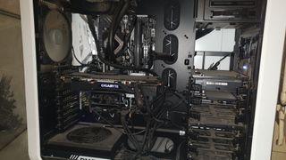 pc gaming gtx 1070 i7 7700k ssd liquida + monitor