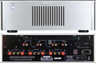 Etapa amplificador rotel