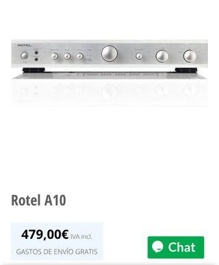Amplificador rotel A10