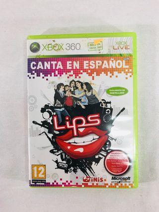 Juego lips Xbox 360.