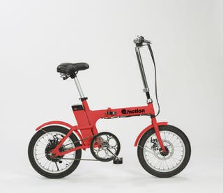 Bicicleta eléctrica plegable pequeña (coral)