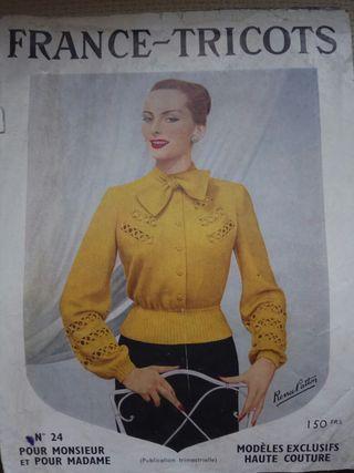 Revistas antiguas de moda