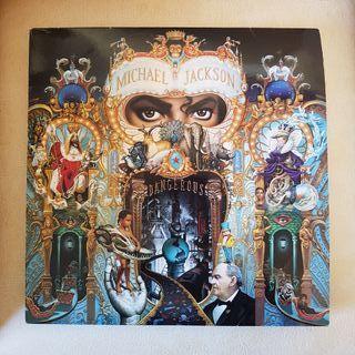 Disco Lp Michael Jackson Dangerous 2 discos