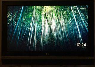 """TV 37"""" LG REGALO SOPORTE PARED Y DVD CON USB"""