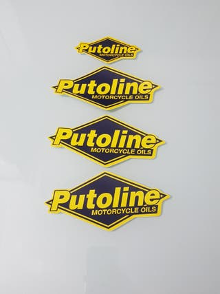 4 Pegatinas PUTOLINE