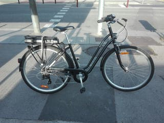 bicicleta paseo eléctrica elops 500e