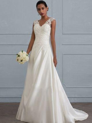 vestido de novia talla 44 de segunda mano en la provincia de málaga
