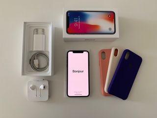 iPhone X 256gb con Garantía