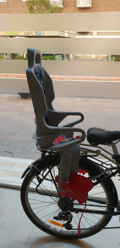 Silla Portabebe Bici De Segunda Mano Por 20 En Barcelona En Wallapop