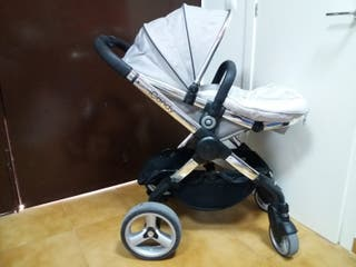 carrito icandy gris