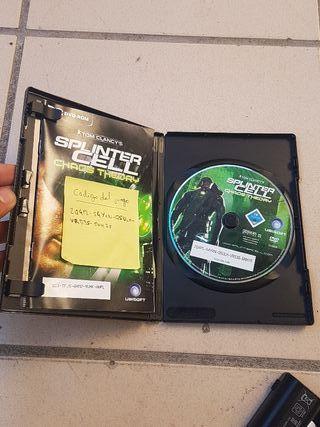 juego (splinter cell) para PC