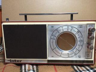 Radio antigua INTER , MODELO NIZA
