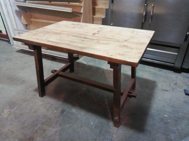 Mesa rústica para bodega o cocina de segunda mano por 65 € en ...