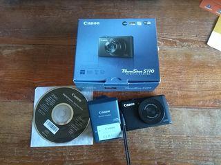 REBAJADO!.Canon PowerShot S110 averiada