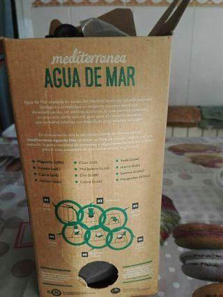Agua de mar 2L, REGALO X COMPRA.
