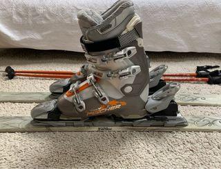 Botas de esqui fischer.