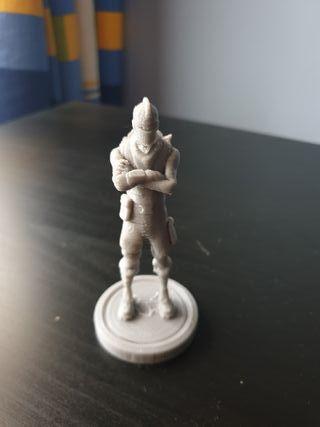 Caballero oscuro Fortnite impreso 3D