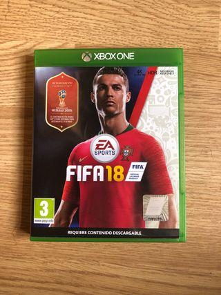 JUEGO XBOX ONE FIFA 18