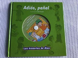 Libro adiós al pañal con CD