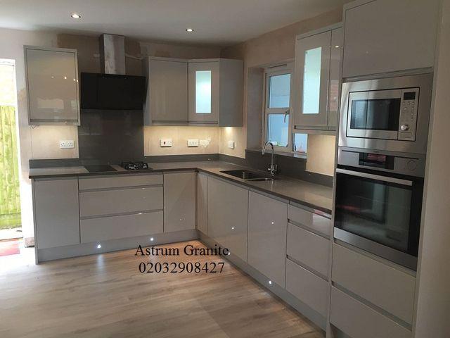 Buy Grey Galaxy Quartz Kitchen Worktop in London