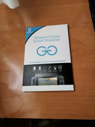 Pack Cristal Templado Nintendo switch