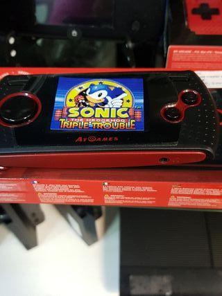 consola sónicMaster arcade