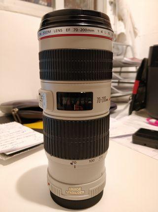 Objetivo Canon 70-200 f/4 L IS USM