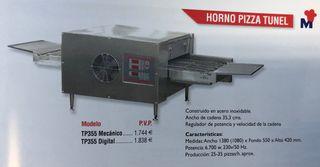 Horno Pizza Túnel cadena OFERTA