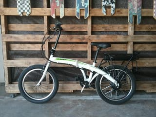 Bicicletas electrica plegable.