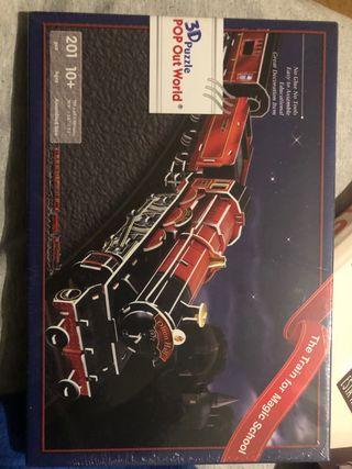 Puzzle Tren 3D
