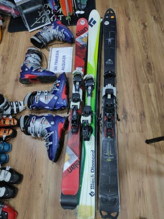 alquiler esquí travesía fijacion Diamir
