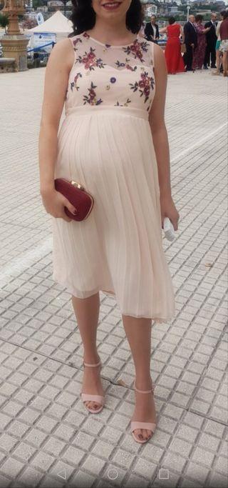 vestido fiesta premamá