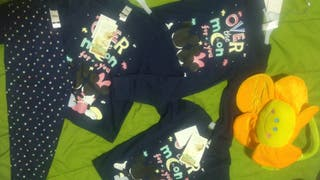pijamas de niñas marca c&a 100% algodón
