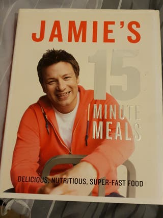 Jamie's 15 minute meal recipe book