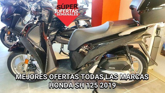 2019 MOTOS NUEVAS HONDA SH 125 MEJORES OFERTAS