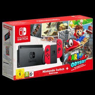 Nintendo switch con juego incluido