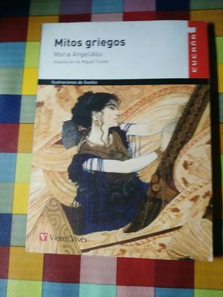 libro de mitos griegos