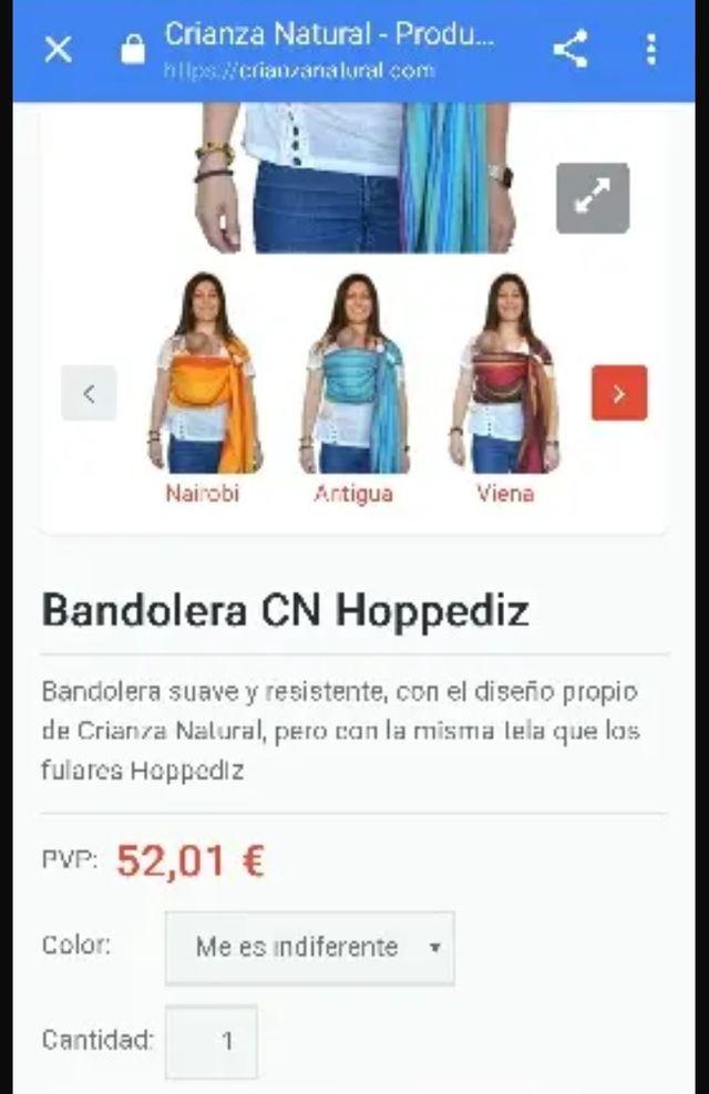 Bandolera Hoppediz