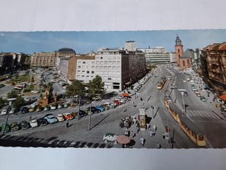 Postal sin circular de Frankfurt antigua