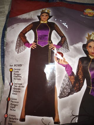 disfraz Reina mala o madrastra