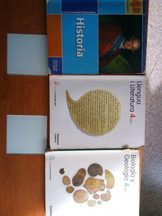 Libros de texto 4° ESO