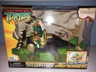 tortugas ninja paleo patrol dinosaurio