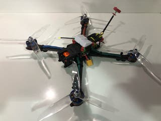 Drone carreras fpv long range 7 pulgadas
