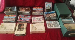 colección de postales,se escuchan ofertas