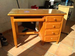 escritorio de pino