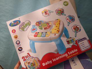 Juguete mesa musical para niños +18 meses