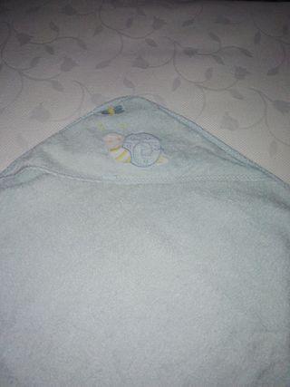 2 toallas de baño para bebes