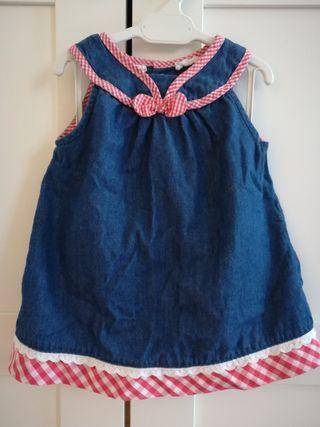 Vestido bebé niña Mayoral 6-9 meses