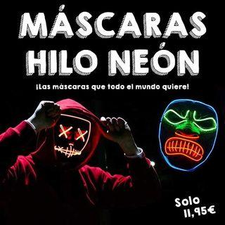 Máscara Hilo Neón