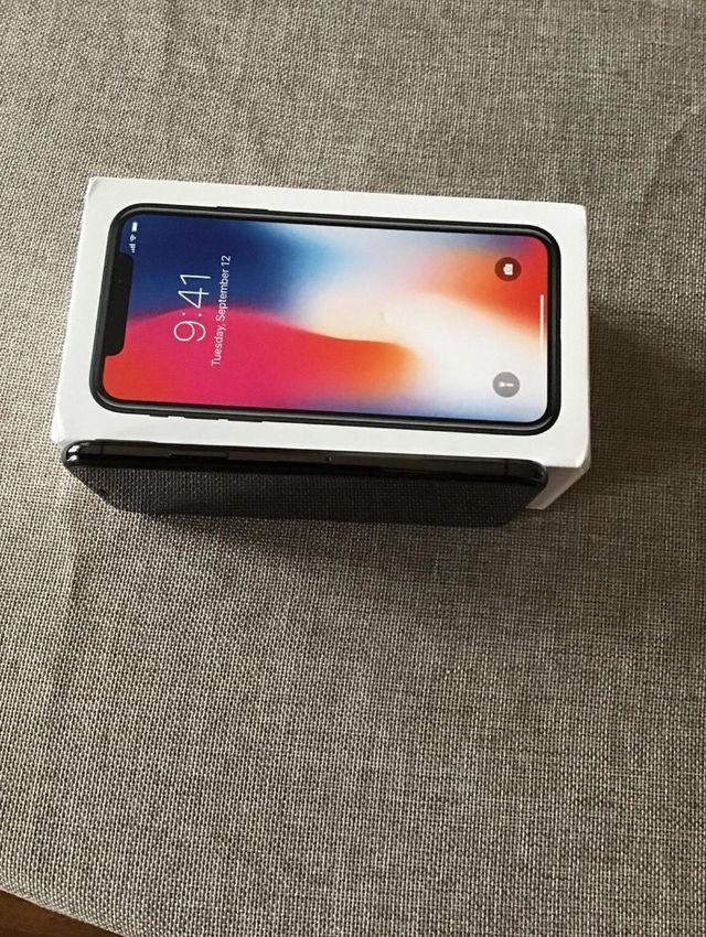 Apple iPhone X 256gb - space grey unlocked!